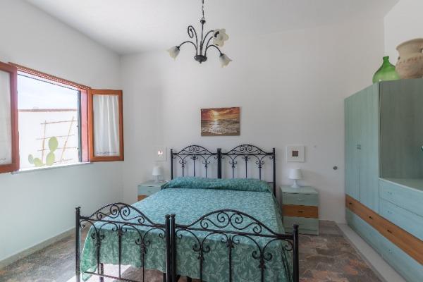 ampia camera da letto , volendo c'è la possibilità di aggiungere un letto o letto a castello