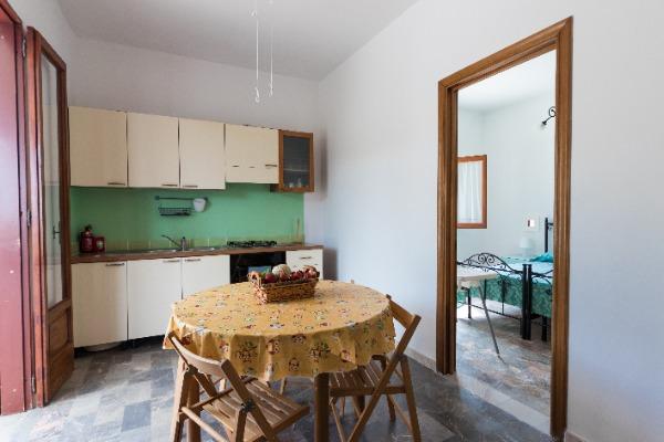 cucina abitabile e confortevole dotata di tutti i comfort