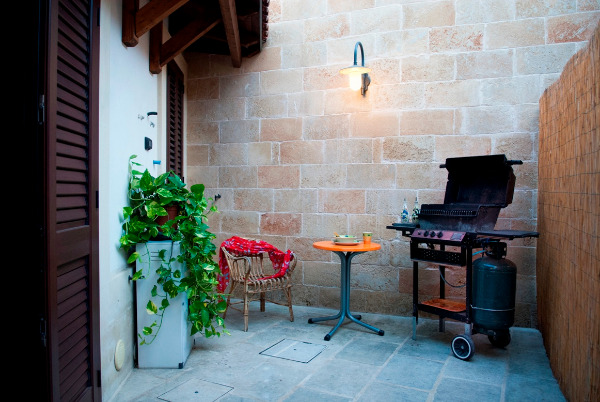 App. ARANCIO - angolo barbecue