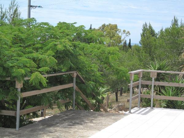 Terrazza casa colonica panoramica
