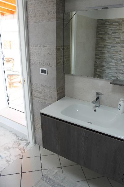 Foto 47: Casa Nettuno - Bagno con box doccia in Terrazza