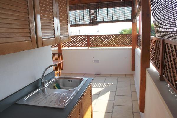 Foto 43: Casa Nettuno - Angolo cottura in Terrazza