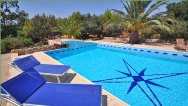 Vacanza lido marini in puglia villa con piscina e vista mare - Residence puglia mare con piscina ...
