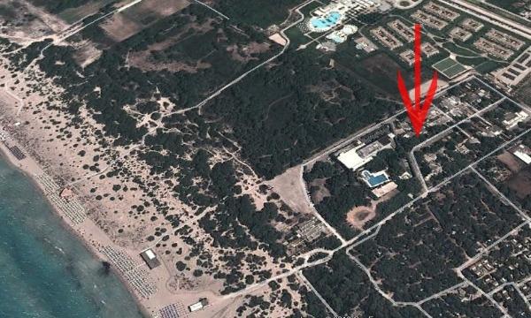 veduta del villaggio Verdeazzurro e posizione casa
