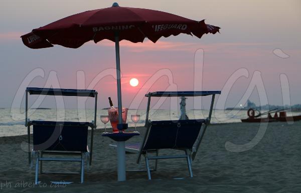 il tramonto al Lido Cocoloco