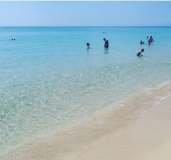 Foto 37: Spiaggia di Pescoluse a 50 metri