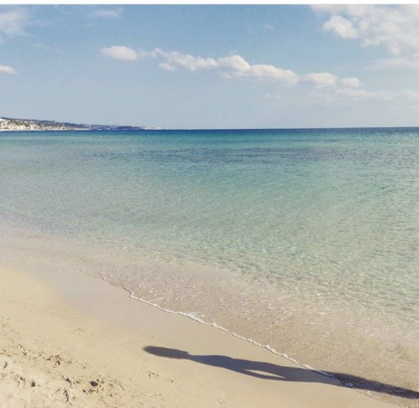 Foto 40: Spiaggia di Pescoluse a 50 metri