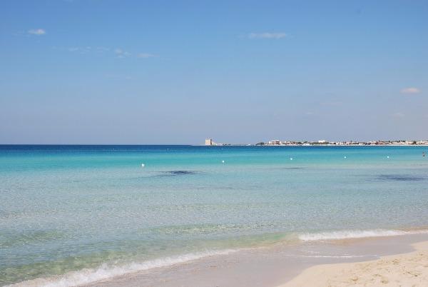 Incantevoli spiagge di Torre San Giovanni marina di Ugento