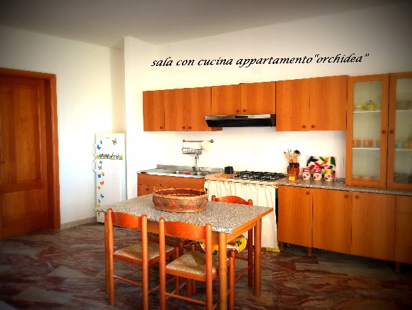 Foto 32: SALA CON CUCINA APPARTAMENTO ORCHIDEA