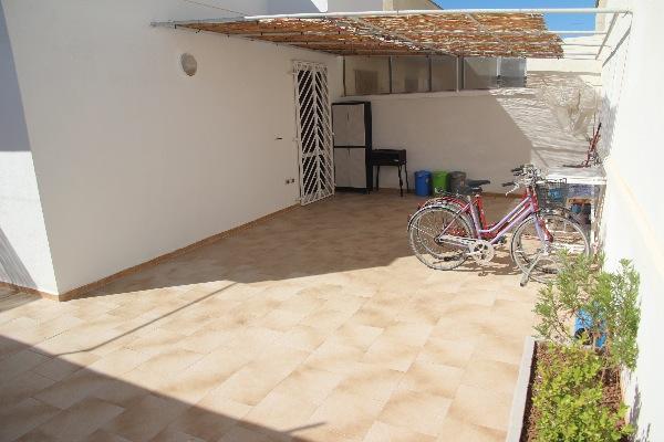 Foto 9: spazio esterno sul retro con pila, doccia esterna e barbecue