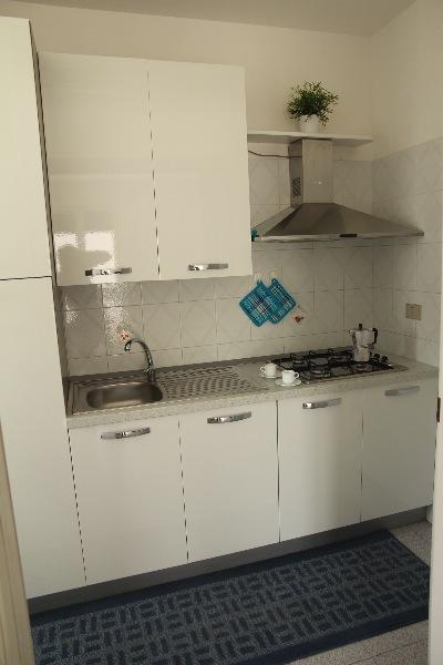 Foto 12: cucina con forno a gas e forno microonde