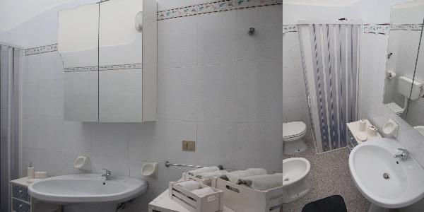 Foto 20: bagno con doccia bidet, wc e lavatrice