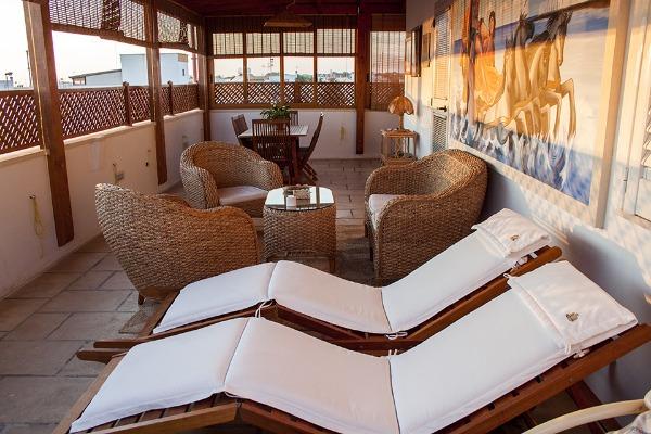 Foto 40: Casa Nettuno - Lettini in Terrazza vista mare