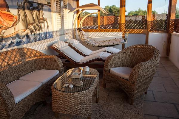Foto 39: Casa Nettuno - Zona relax in Terrazza