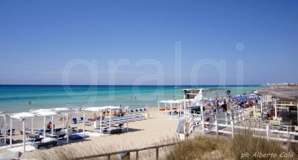 la spiaggia del Cocoloco