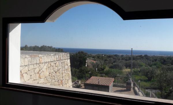 Camera letto n.4 Giulia - vista panoramica finestra camera.