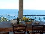 Villette a Tiggiano in Puglia. Villetta Torre Nasparo con meravigliosa vista mare.