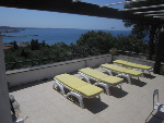 Villette a Santa Caterina. Villa ed attico panoramico nel parco protetto di Porto Selvaggio