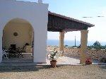 Ville a Pescoluse in Puglia. Villa bifamiliare a 900 dalla spiaggia di Marina di Pescoluse, con giardino e vista mare