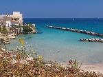 Appartamenti a Otranto. Casa a Otranto con spiaggia di fronte