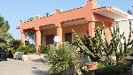 Villette a Porto Selvaggio in Puglia. Porto Selvaggio villini adiacenti nelle vicinanze della baia