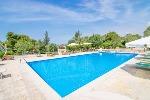 Ville a Pescoluse in Puglia. Gigantesca Villa Panoramica con Piscina a Pescoluse Spiaggia Bianca