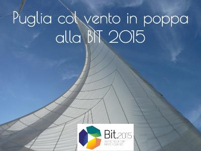 Puglia col vento in poppa per l'estate 2015