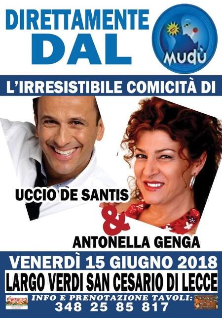 venerdì 15 giugno 2018  - San Cesario
