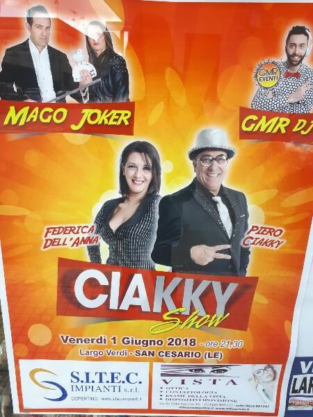 venerdì 1 giugno 2018  - San Cesario