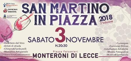 sabato 3 novembre 2018  - SagreMonteroni Di Lecce