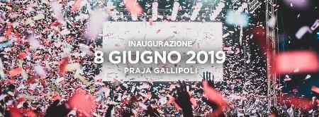 sabato 8 giugno 2019  - Eventi in DiscotecaGallipoli