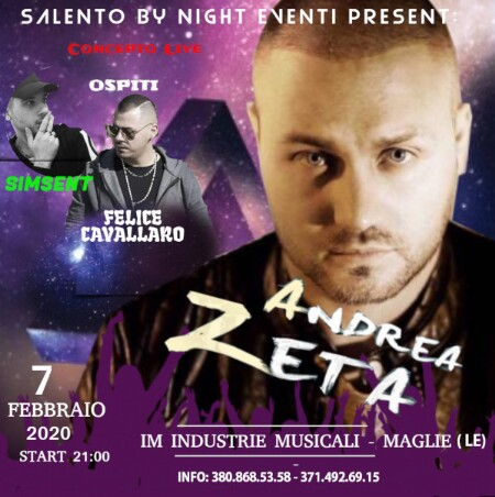 venerdì 7 febbraio 2020  - Artisti in Tour nel SalentoMaglie
