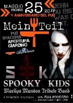 Spooky Kids Marilyn Manson Tribute Band